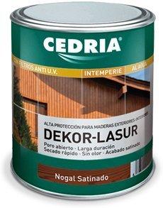 Lasur protector madera exterior agua Cedria Dekor