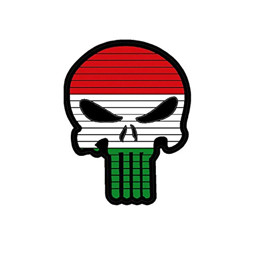 TaiwanGun Flag Punisher Skull Hungría Hungary