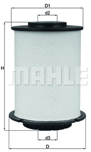 Mahle Knecht Filter KX404D Kraftstofffilter