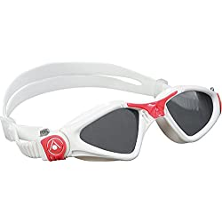 Aqua Sphere Kayenne Womens Goggle - Tinted Lens / White / Red