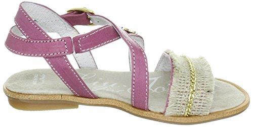 Liu Jo Girl PISA Sandales en cuir violet Violet - violet