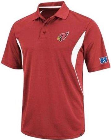 Arizona Cardinaux équipe Apparel Champ classique Dri Fit Polo pour Homme Big & Grande Tailles gris Rouge XXXXL