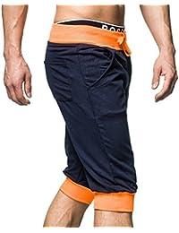 Balandi Herren kurze Short Jogginghose Sporthose Fitness Hose Capri