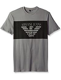 Armani Jeans - T-shirt - Homme gris gris -  gris - Large