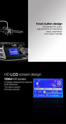 Tronxy Prusa i3 3D Drucker DIY Kit Full Metal Struktur mit MK3 Heatbed, Doppelventilatoren, HD LCD Display, Max Drucken Größe: 220 * 220 * 220 MM - 9