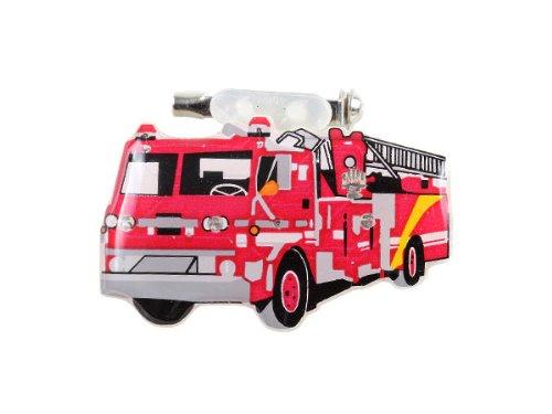 10 Stück Blinky Blinker Feurwehrauto Feuerwehr Pin Ansteckpin