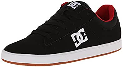 DC Ignite 2 Lowtop Shoes - Black/True Red/Gum, UK Size 7 (Eur 40.5)