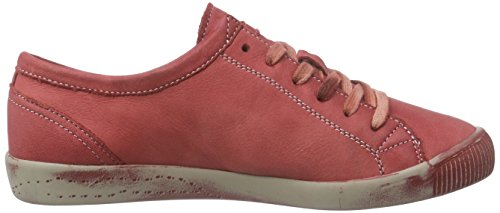 Softinos Isla washed, Baskets  femme Rouge - Rot (red 527)