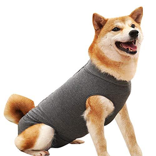 Hawkimin mops Pullover Neue Weiche Hundechirurgie Kleidung Medical Pet Chirurgische Streifen Anzug Hund Shirt Mantel Weste