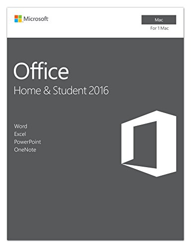 Microsoft Office Home and Student 2016 [Mac Online Code] Test
