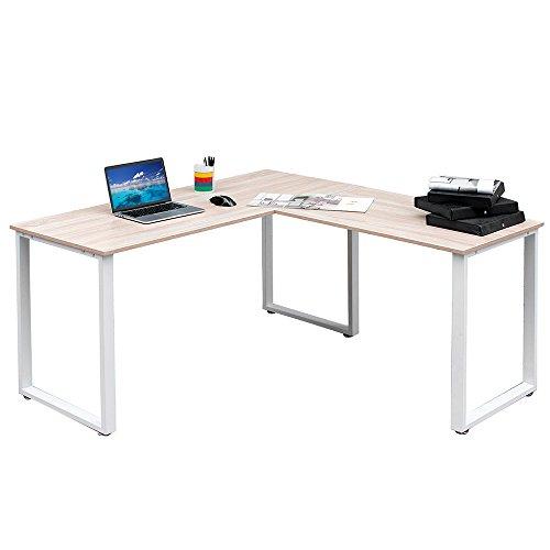 sturdy office desk. LIFE CARVER Sturdy Large L-Shaped Office Desk D