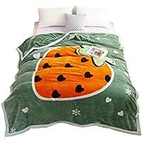 XDFCV Textiles,warmes Innenzubehör Decke Verdicken Warme Hochzeit Quilt Winter Double Layer Wolke Decke