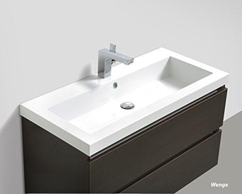 Badmöbelset Waschtisch, Unterschrank und Spiegel - 3