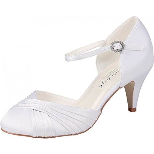 westerleigh Lilly Chaussures de mariage Ivoire