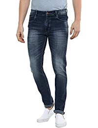 BUkkL Men's Slim Fit Jeans
