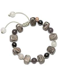 Ladies Lola Rose Gold Plated Blue Sandstone Garbo Circle Bracelet 583213 CgHUV0Zp