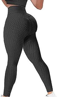Tik Tok Women's Butt Lift Leggings Sexy Leggings for Women High Waist Yoga Pants Workout Tummy Control Spo