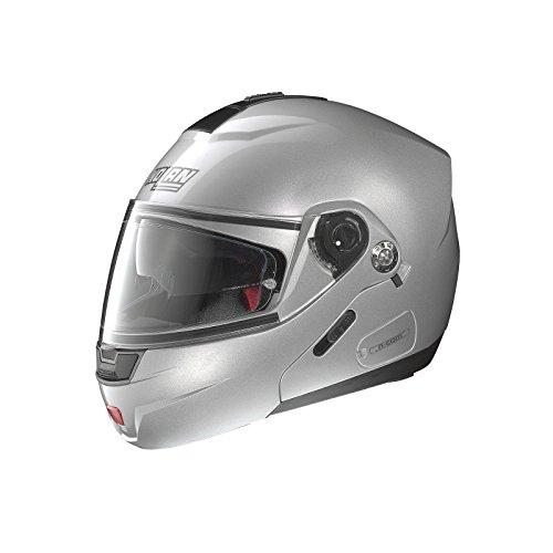 Preisvergleich Produktbild Nolan N91 Evo Special N-Com Klapphelm Silber XXS - Motorradhelm