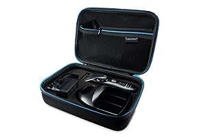 Supremery Poche pour Panasonic ER-1611 Tondeuse à Cheveux Professionnelle Boîte Coquille de Protection Étui Sacoche de Transport
