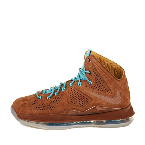 Limited Edition Lebron X Ext Qs Sport Style formateur Chaussures brown