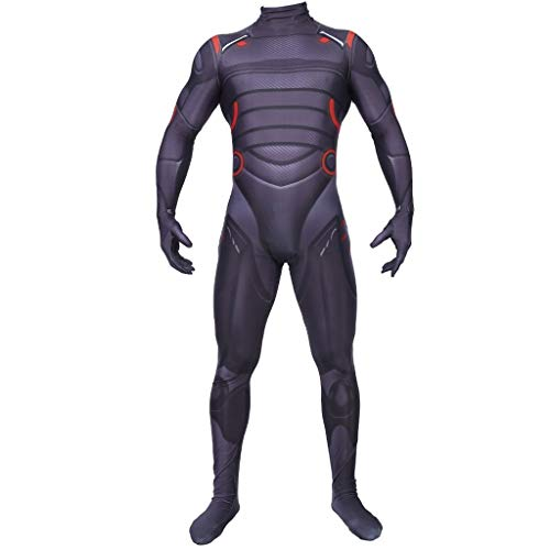 Kostüm Muskel Spiderman Brust - YEGEYA Cosplay Kostüm Muskel Stil Overall Erwachsene Kinder Halloween Party Kostüm (Color : Adult, Size : M)