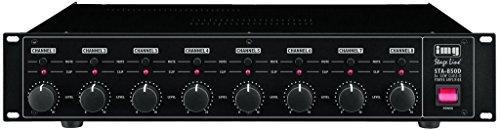 IMG Stage Line STA-850D 8-Kanal Digital-Verstärker schwarz Test