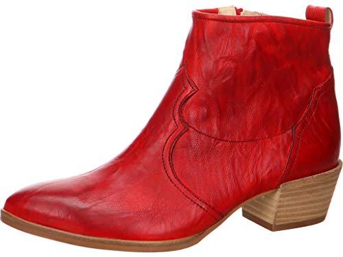 Paul Green Damen Stiefelette Größe 41.5 EU Rot (rot) (Antik Cowboy Stiefel)