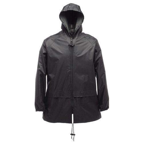 Regatta mixte adulte Veste coupe-vent imperméable de Golf Walkinging Manteau Veste de loisir Noir - Noir