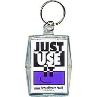 """Schlüsselring mit Kondom""""Just use it"""", witzige Geschenk-Idee preisvergleich bei billige-tabletten.eu"""