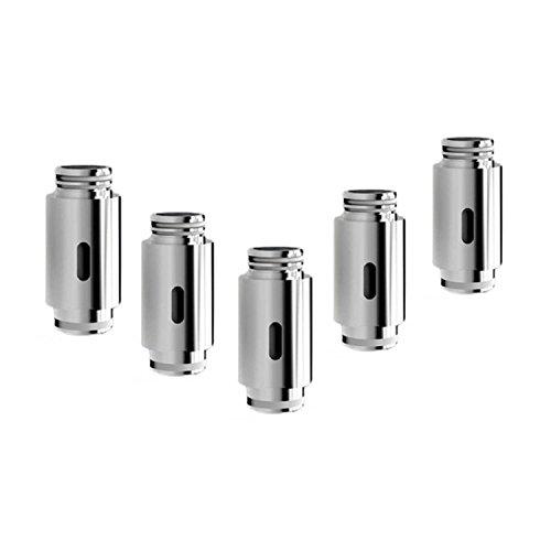 5x Kanthal Coils 0.25 ohm (Verdampferköpfe Bio-Baumwolle) für FUSION E-zigarette Box Mod (ohne Nikotin, ohne Tabak) -