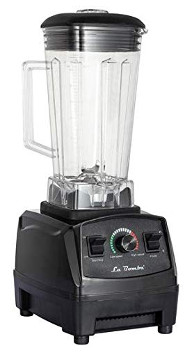 Mixer La Bomba® Competizione GTS, Hochleistungsmixer nero/schwarz, Profi Smoothiemaker, Blender, 1500 Watt, 36000 rpm