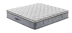 hypnia 7 zonen king size memory schaum matratze auf taschenfedern 150cm x 200cm 30 cm 12 zoll. Black Bedroom Furniture Sets. Home Design Ideas