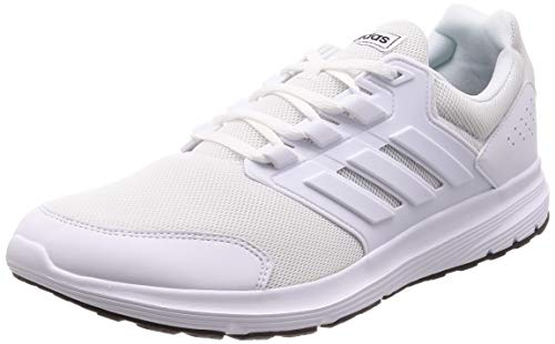 adidas Galaxy 4, Scarpe da Running Uomo, Bianco (Ftwr White/Ftwr White/Ftwr White Ftwr White/Ftwr White/Ftwr White), 48 EU