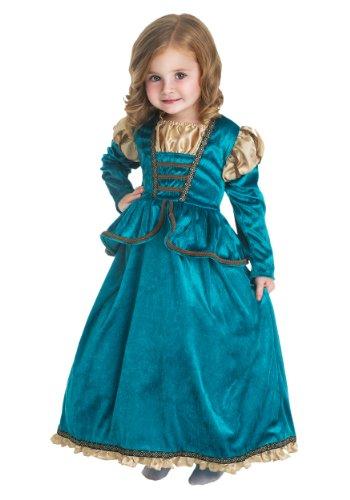 Little Adventures Kostüm für Mädchen, Schottische Prinzessin, Größe M, 3–5 ()