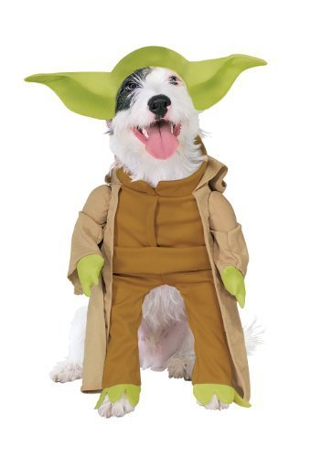 Rubies Costume Star Wars Collection Pet Costume, Yoda with Plush Arms, Large by Rubies Decor