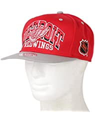 Casquette Mitchell And Ness Detroit Redwings Rouge / Gris