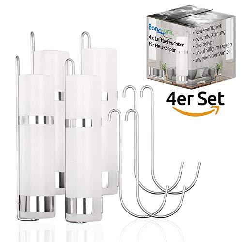 BonAura Luftbefeuchter Heizung für angenehme Atmung im Winter - Glas Heizkörper Luft Befeuchter - Den Verdampfer einfach mit Wasser befüllen (4)