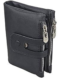 a8f1951d9 Cartera de piel hombre modedero Rosa Schleife Multi-función de la Cartera de  Diseño de Negocios Billetera de tarjeta de crédito,Especialmente…