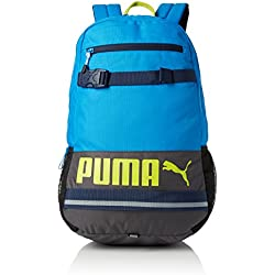 PUMA Deck Backpack - Mochila tipo casual, color azul, talla única