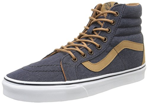 Vans SK8-Hi Reissue, Sneakers Hautes mixte adulte, Bleu (Denim C&L/Navy), 45 EU (10.5 UK)