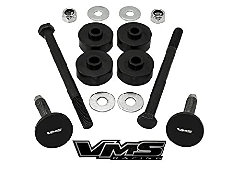 97-04 VMS Racing CORVETTE FRONT and REAR LOWERING KIT REAR Bolts and Bushings for Chevy Chevrolet Corvette C5 1997-2004 Complete Set