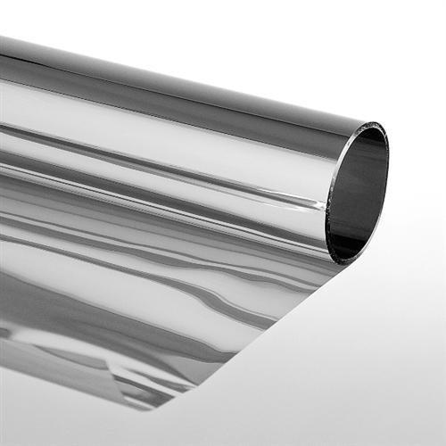 """Folien-Gigant Sonnenschutzfolie """"Extrem"""" Silber 152 x 500 cm mit Spiegeleffekt Selbstklebend"""