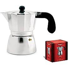 Oroley 215030400 - Cafetera italiana, aluminio, 9 tazas