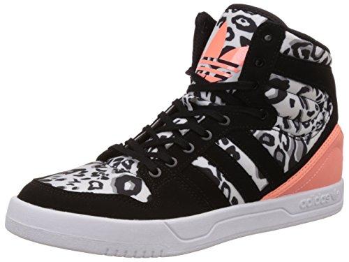 adidas Originals Boy's Court Attitude K White, Black and Yellow Sneakers - 4 UK/India (36.7 EU)