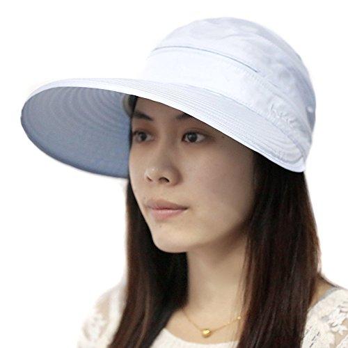 Schmetterling Floppy Breite Krempe Hat Sun Hat Sun Schutz Kappe Sonne Visier Hat Cap Bucket Hat für Frauen Mädchen hellblau (Hat Brim Floppy)