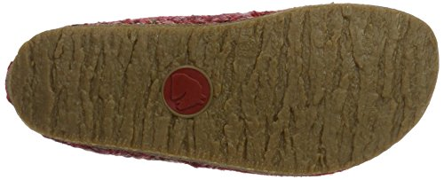 Haflinger Grizzly Anke, Sneakers basses mixte adulte Rot (Rubin)