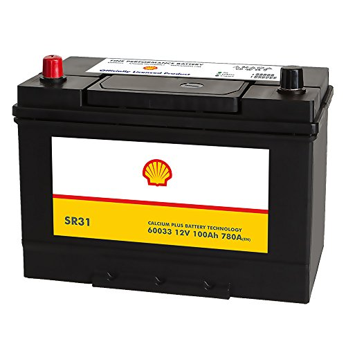 Shell SR31 Asia Autobatterie 12V 100AH 780A/EN 60033 Pluspol Links