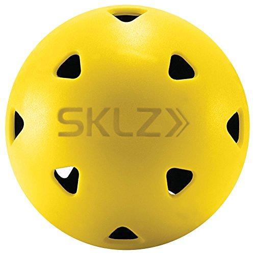 SKLZ Unisex Impact Limited Flight Praxis Kugeln, schwarz/gelb