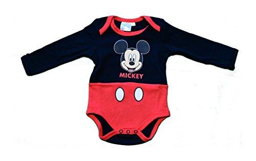 Disney Minnie Baby-Mädchen Body 2123, Schwarz Noir, 18-24 (Herstellergröße: 18 Monate)