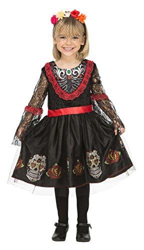 My Other Me costume di Señorita Día de los Muertos (Viving Costumes) 5-6 años